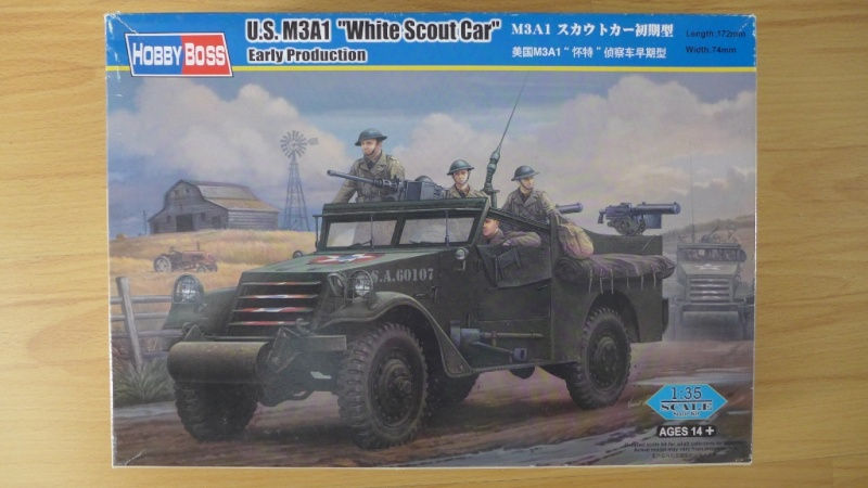"""U.S. M3A1 """"White Scout Car"""" - Early Production P1030653"""