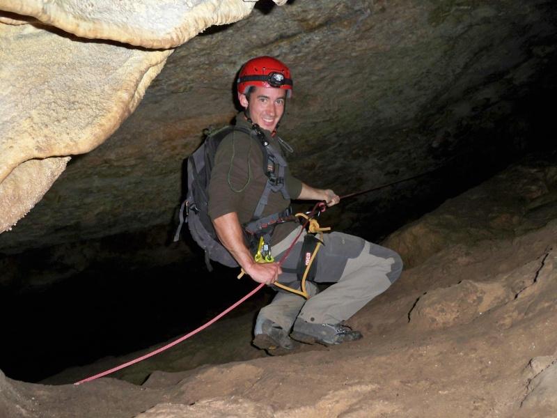 Espeleología: sábado 18 de abril 2015 - Cueva de la Bruja (Guadalajara) 014_pa10