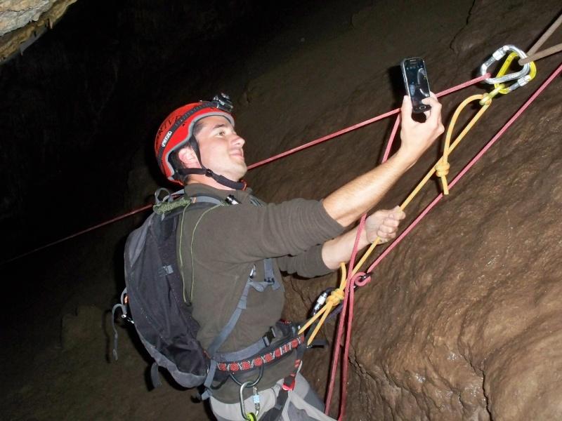 Espeleología: sábado 18 de abril 2015 - Cueva de la Bruja (Guadalajara) 018_pa10