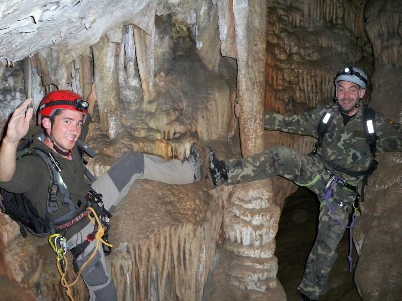 Espeleología: sábado 18 de abril 2015 - Cueva de la Bruja (Guadalajara) 019_pa10