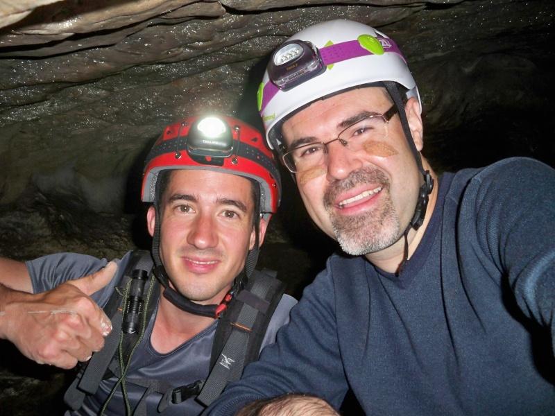 Espeleología: sábado 18 de abril 2015 - Cueva de la Bruja (Guadalajara) 025_pa10
