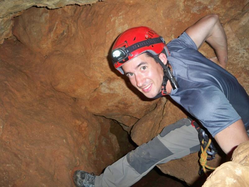 Espeleología: sábado 18 de abril 2015 - Cueva de la Bruja (Guadalajara) 036_pa10