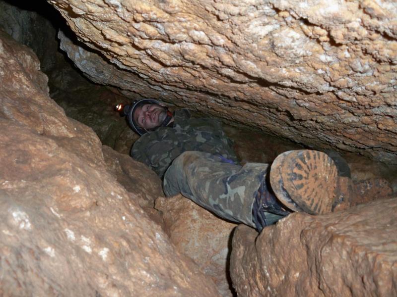 Espeleología: sábado 18 de abril 2015 - Cueva de la Bruja (Guadalajara) 042_os11