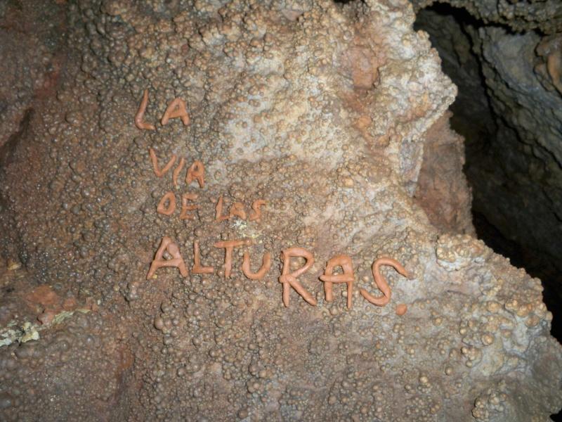 Espeleología: sábado 18 de abril 2015 - Cueva de la Bruja (Guadalajara) 060_la10