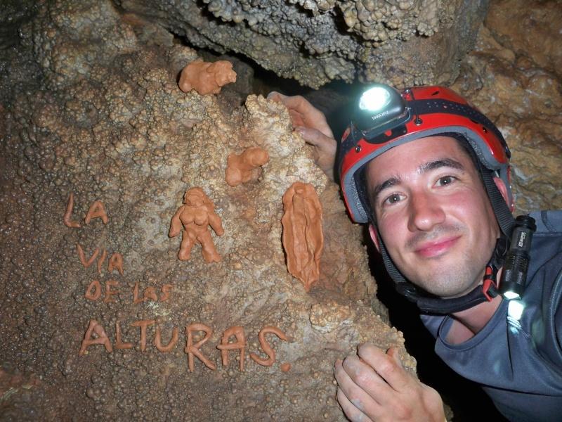 Espeleología: sábado 18 de abril 2015 - Cueva de la Bruja (Guadalajara) 062_pa10