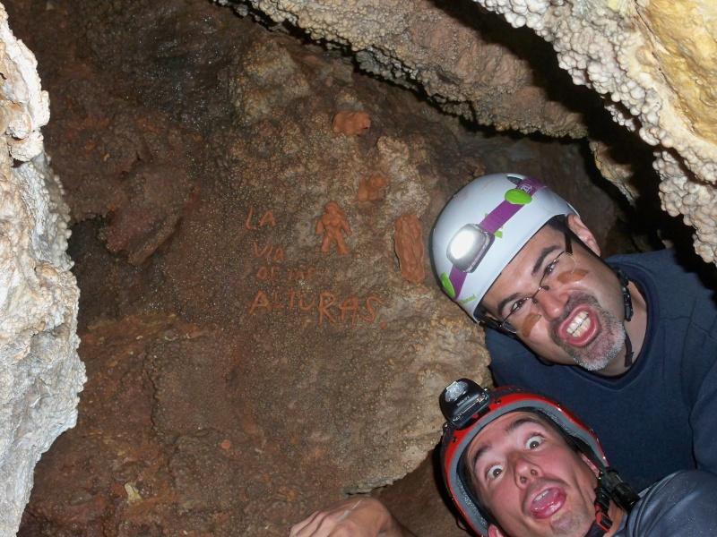 Espeleología: sábado 18 de abril 2015 - Cueva de la Bruja (Guadalajara) 065_pa10