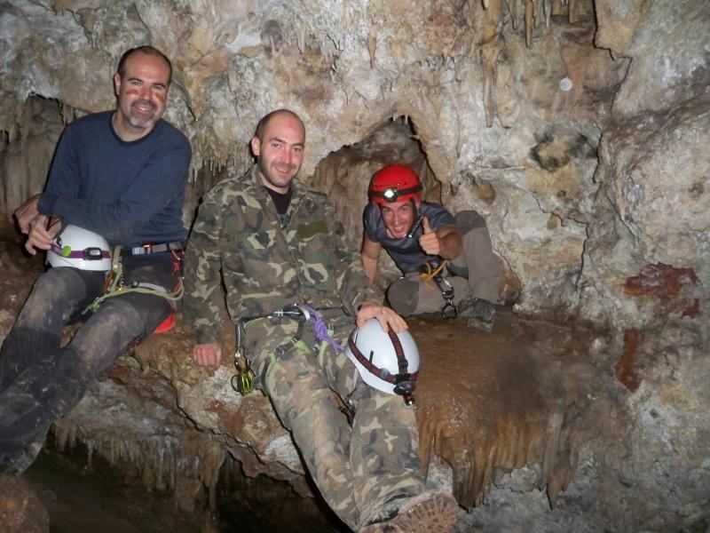 Espeleología: sábado 18 de abril 2015 - Cueva de la Bruja (Guadalajara) 069_ra10