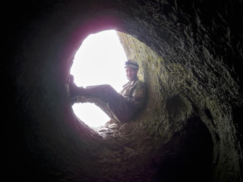 Espeleología: sábado 25 de abril 2015 - Cueva del Asno (Soria)  100_9718
