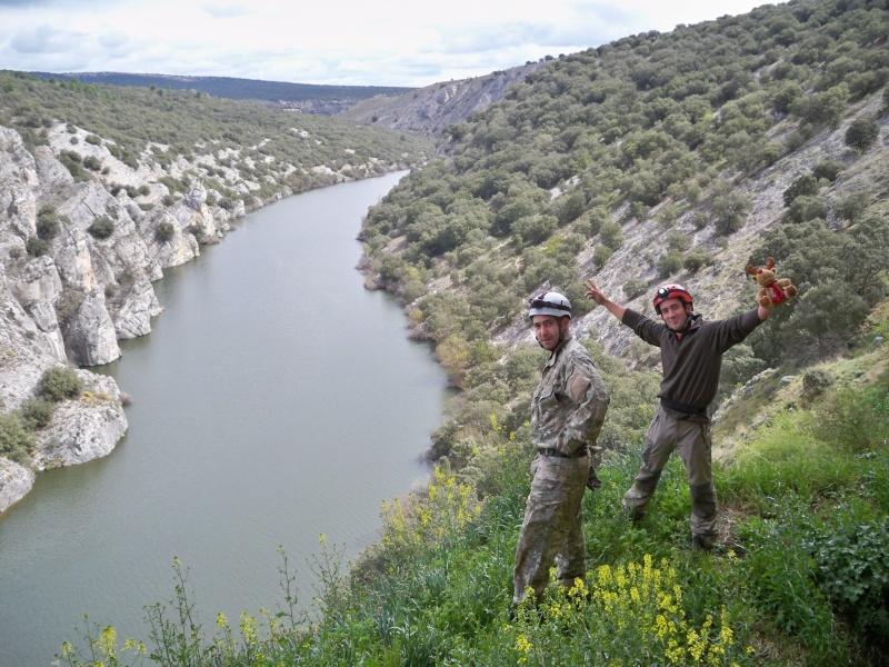Espeleología: sábado 25 de abril 2015 - Cueva del Asno (Soria)  100_9810