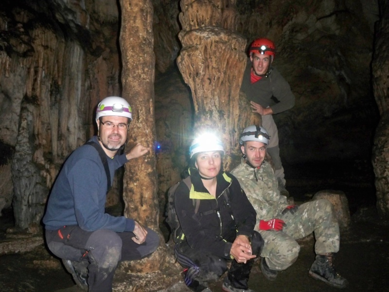 Espeleología: sábado 25 de abril 2015 - Cueva del Asno (Soria)  100_9814