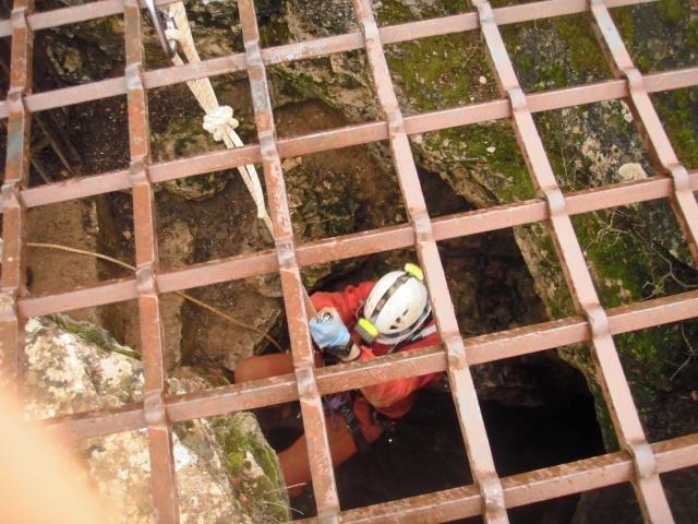Espeleología: sábado 6 de junio 2015 - Cueva de las Majadillas (Guadalajara) P4180110