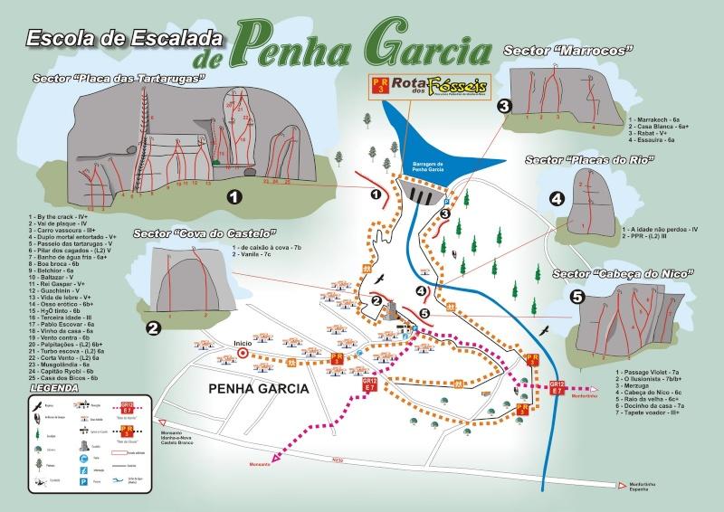 Escalada, psicobloc y senderismo: 26-28 de junio 2015 - Penha García (Portugal) Pehna_11