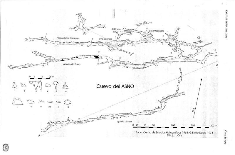 Espeleología: sábado 25 de abril 2015 - Cueva del Asno (Soria) Topo_c10