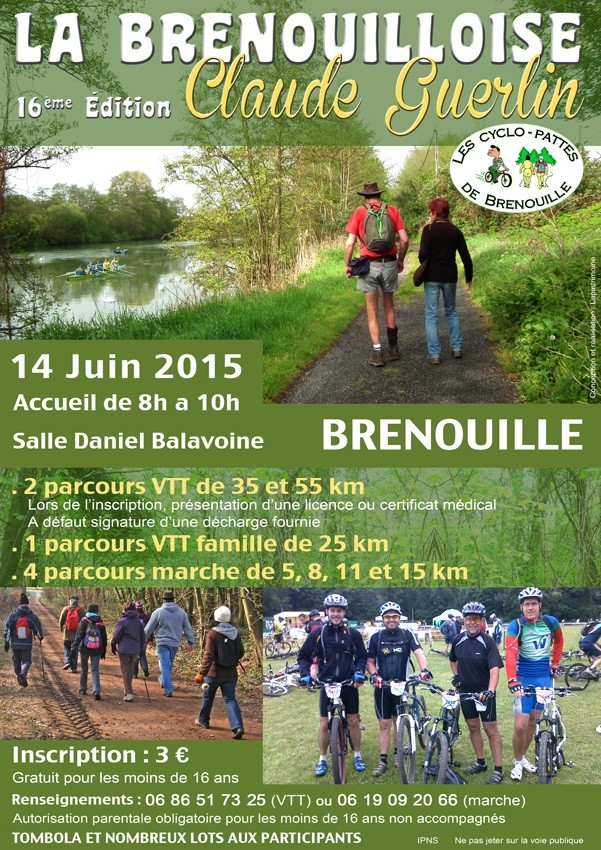 [60] Rando La Brenouilloise - 14 Juin 2015 Affich10