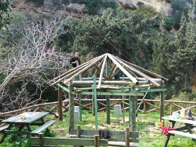 Μύλοι Ρεθύμνου:Τελιώνουν τα έργα στο φαράγγι Μύλων ( Φωτος ) 10981410