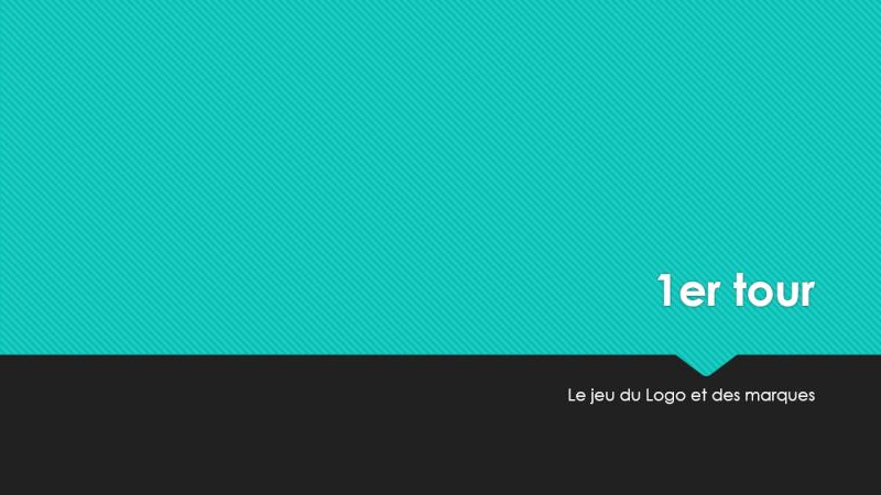 """""""Le jeu du logo et des marques"""" (1) - Jeu à durée indéterminée Tour110"""