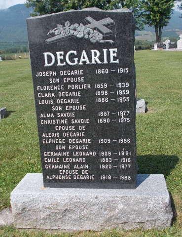 Dégari, De Garis, Nouvelle lignée Dégari L24610