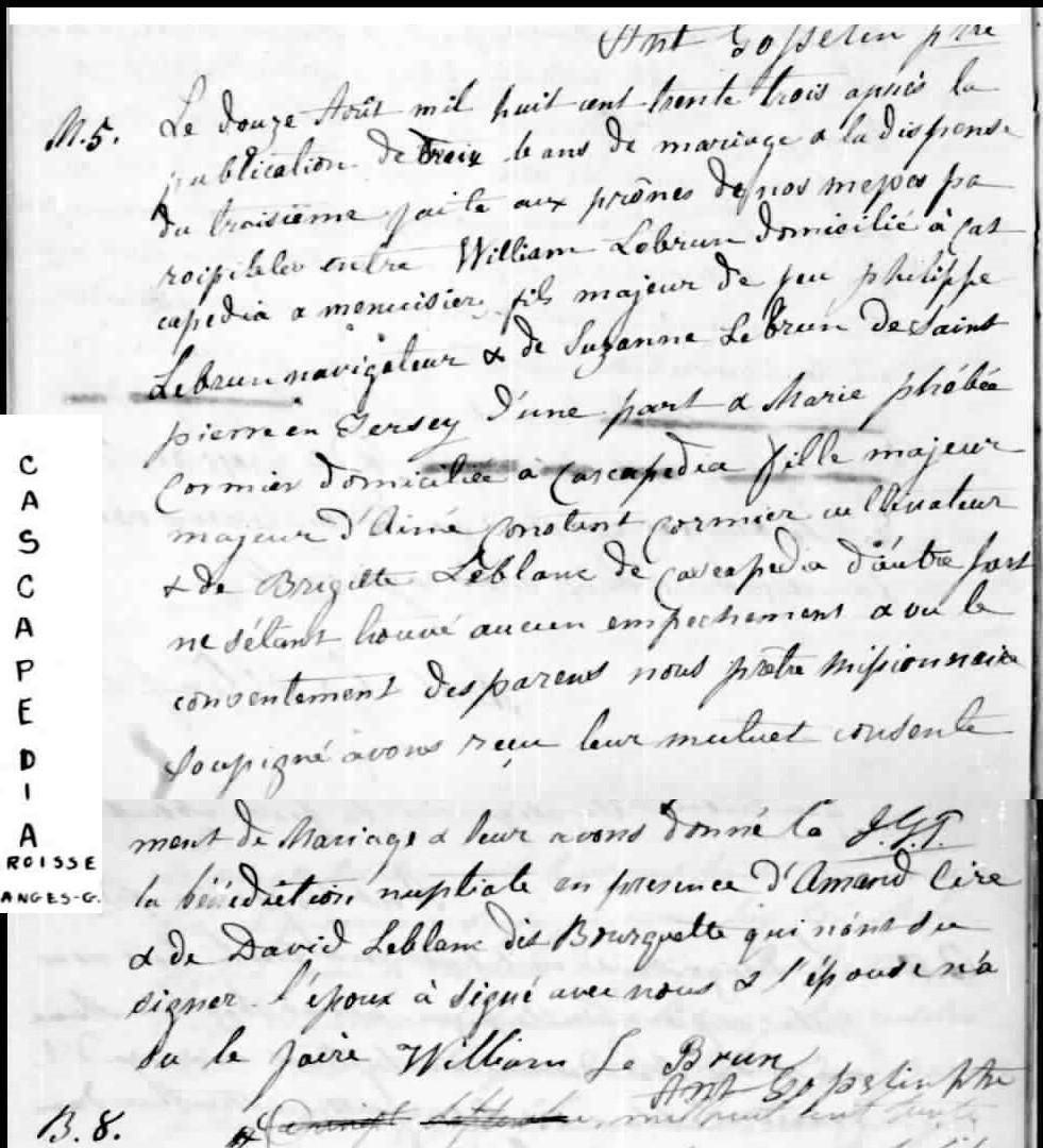 Recherche sur William LEBRUN marié à Marie-Phébée Euphémie CORMIER Lebrun10