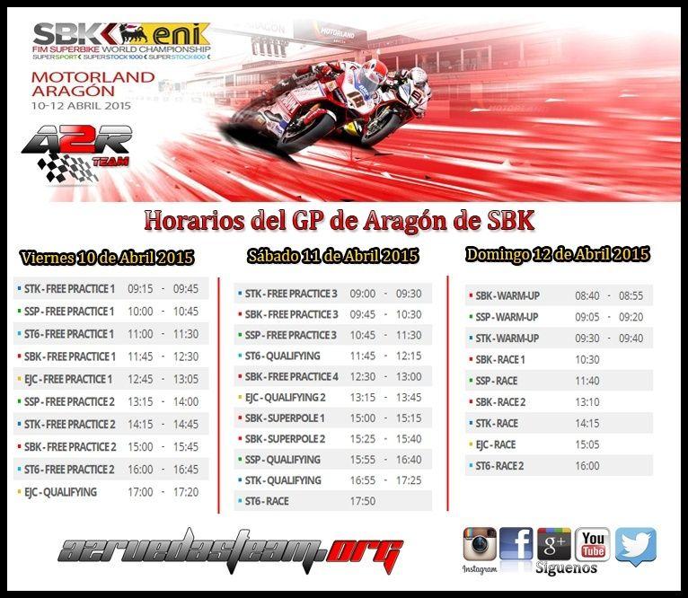 GP de Aragon de SBK Sbk110