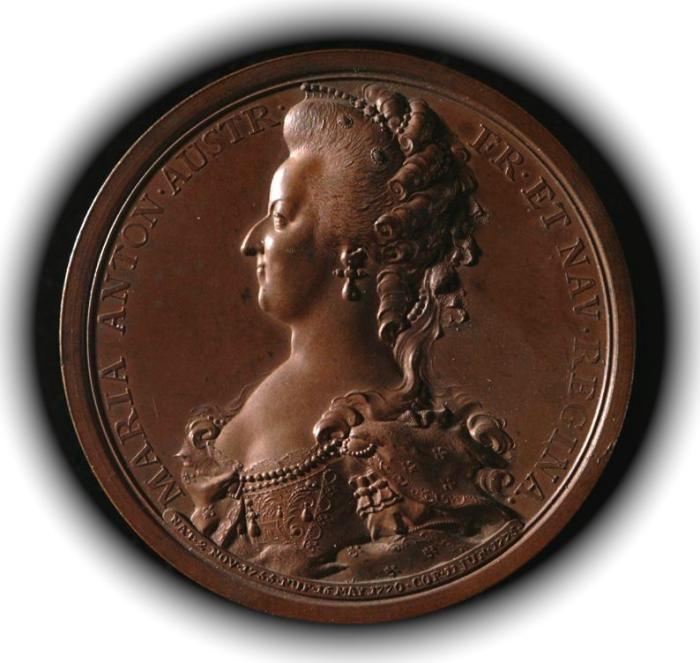 L'Entrée de la Reine à Paris le 24 mai 1785 0d016510