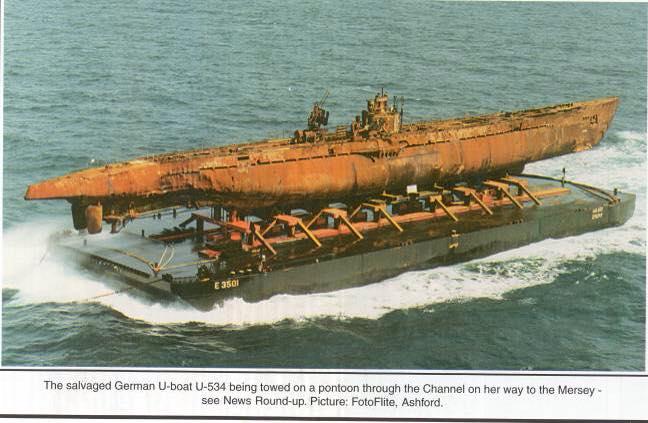 le U-534 renfloué S1010
