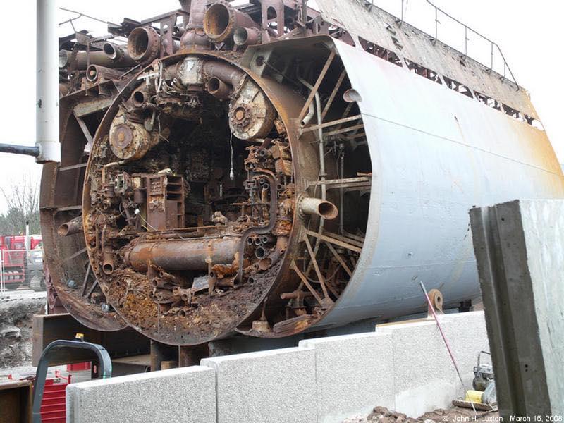 le U-534 renfloué S1610