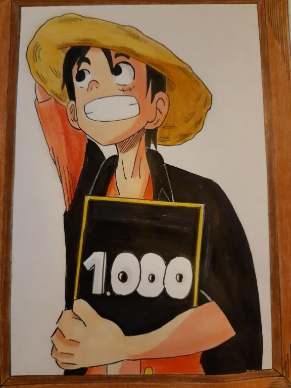 Feier zum 1000. Kapitel One Piece 20210110