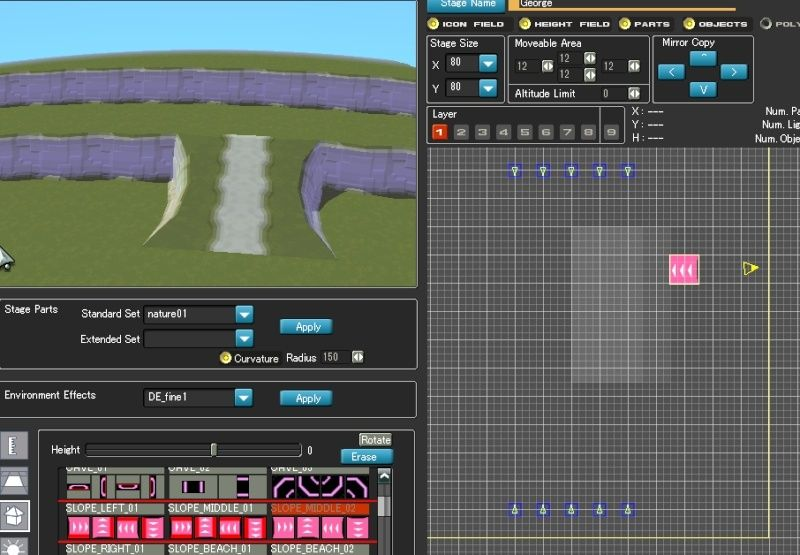 Stage Editor tutorial Stagee10