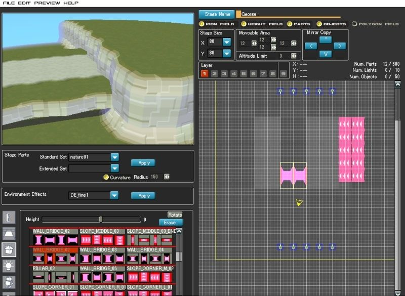 Stage Editor tutorial Stagee12