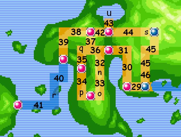 Localisations des pokémons en 3.9  - Page 5 Johto_10