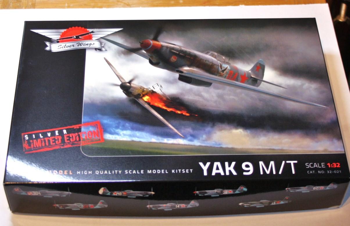 Yak  9   T/M   silverwings   1/32 Img_5837