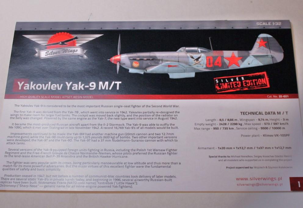 Yak  9   T/M   silverwings   1/32 Img_5850
