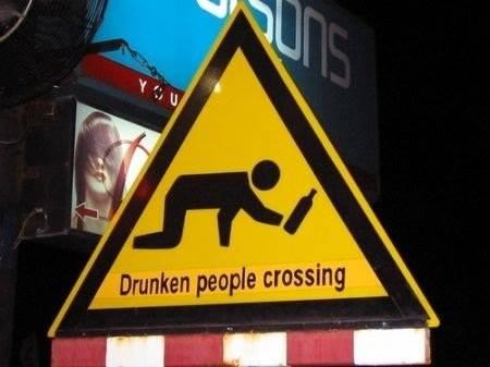Les panneaux drôles, bizarres, étranges - Page 6 Drunke10