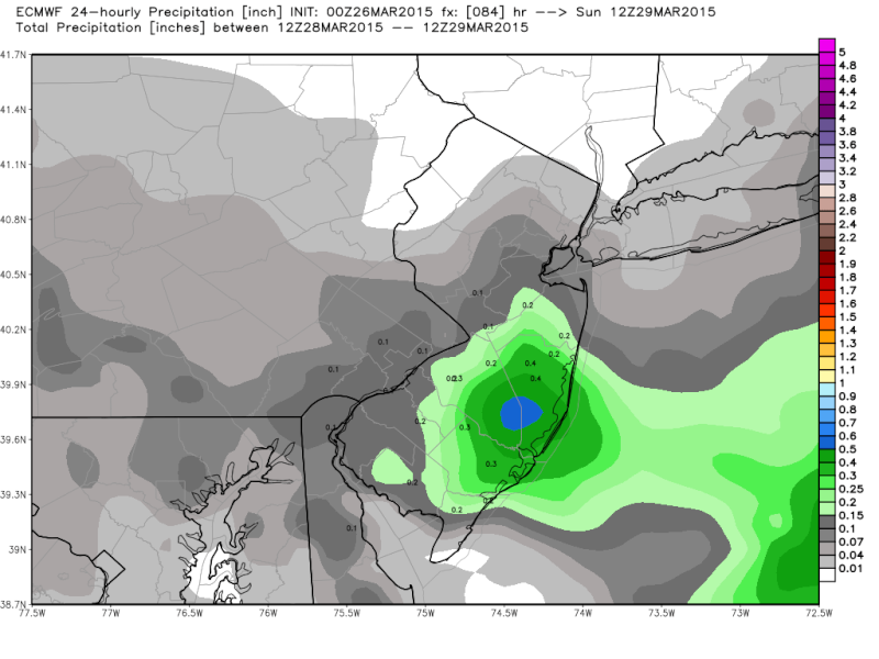 *BLOG* 2 Systems To Watch - March 29th & April 1st - Page 2 Ecmwf_10