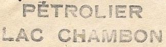 * LAC CHAMBON (1944/1974) * 049_0011