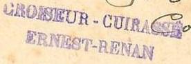 * ERNEST RENAN (1910/1936) * 14-1110