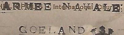* GOÉLAND III (1915/1919 et 1940/1942) * 16-0910