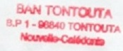 * NOUMEA - TONTOUTA * 211-0810