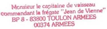 * JEAN DE VIENNE (1984/....) * 214-0812