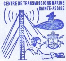 * SAINTE-ASSISE, Centre des Transmissions de la Marine * 215-0310
