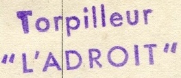 * L'ADROIT (1929/1940) * 37-0310