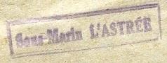 * L'ASTREE (1950/1965) * 49-0910