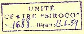 CENTRE SIROCO 59-0610