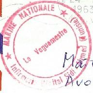 * SECTION D'ENTRAINEMENT DE BIZERTE - SIDI-AHMED * 63-0210