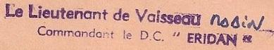 * ÉRIDAN (1957/1981) * 68-0511
