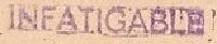 * INFATIGABLE (1946/1977) * 69-0110