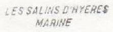 * LES SALINS D'HYERES / ÎLE DU LEVANT * 70-09_10