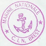 * BREST, Centre d'Instruction Navale  (C.I.N) * 71-0210