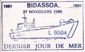 * BIDASSOA (1961/1986) * 86-1110