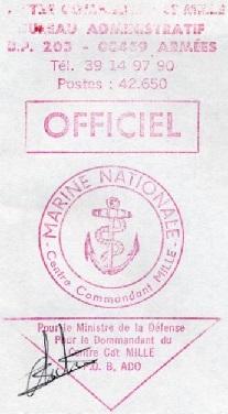 * HOUILLES, Centre Commandant Millé * 91-0110